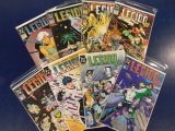 (8) L.E.G.I.O.N 92 & 93 COMIC BOOKS - DC COMICS
