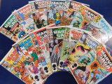 (16) MARVEL SAGA COMIC BOOKS -  MARVEL COMICS