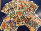 (13) MASTER OF KUNG FU COMIC BOOKS - MARVEL COMICS