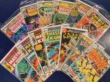 (13) MARTIAL ARTS COMIC BOOKS - MARVEL  COMICS