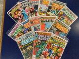 (14) POWEWR MAN / IRON FIST COMIC BOOKS - MARVEL COMICS