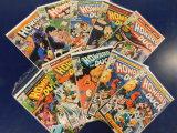 (10) HOWARD THE DUCK COMIC BOOKS - MARVEL COMICS