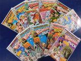 (11) HOWARD THE DUCK COMIC BOOKS - MARVEL COMICS