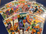 (12) THE THING COMIC BOOKS - MARVEL COMICS
