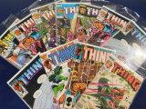 (11) THE THING COMIC BOOKS - MARVEL COMICS