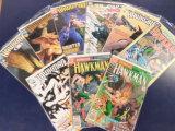 (9) HAWKMAN COMIC BOOKS - DC COMICS