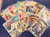 (10) LONE RANGER  COMIC BOOKS - VARIOUS PUBLISHERS