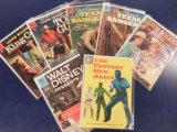 (7)  MISC. WESTERN COMIC BOOKS - DELL COMICS