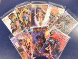 (8) STARSLAYER COMIC BOOKS - WINDJAMER COMICS