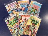 (6) SILVER STAR COMIC BOOKS - PC. COMICS