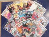(18) STEEL COMIC BOOKS - DC COMICS