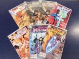 (7) SON OF VULCAN COMIC BOOKS - DC COMICS