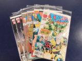 (6) CABLE COMIC BOOKS - MARVEL COMICS