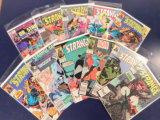 (11) DR. STRANGE COMIC BOOKS - MARVEL COMICS