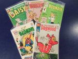 (5) BLONDIE & DAGWOOD COMIC BOOKS - VARIOUS PUBLISHERS