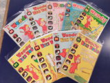 (9) WENDY THE GOOD LITTLE WITCH COMIC BOOKS - HARVEY COMICS