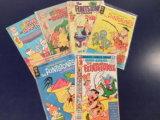 (6) FLINTSTONES COMIC BOOKS - VARIOUS PUBLISHERS