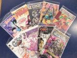 (9) MISC COMIC BOOKS - VARIOUS PUBLISHERS