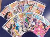 (11) SQUADRON SUPREME COMIC BOOKS - MARVEL COMIC