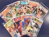 (9) MISC. COMIC BOOKS - MARVEL COMICS