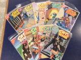 (9) CAT & MOUSE COMIC BOOKS - AIRCEL COMICS