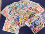 (13) VISION AND THE SCARLET WIOTCH COMIC BOOKS - MARVEL COMICS
