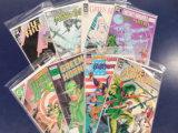(8) GREEN ARROW COMIC BOOKS - DC COMICS