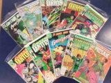 (10) GREEN LANTERN COMIC BOOKS - DC COMICS
