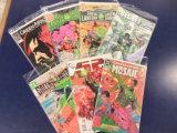 (7) GREEN LANTERN & GREEN ARROW COMIC BOOKS - DC COMICS