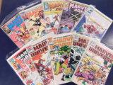 (10) MARVEL SAGA, MARVEL AGE & MARVEL UNIVERSE COMIC BOOKS