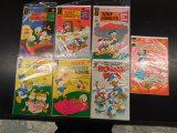 (7) MISC. DONALD DUCK COMIC BOOKS - VARIOUS PUBLISHERS