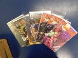 (7) DARKSTALKERS COMIC BOOKS - UDON COMICS