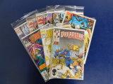 (9) MISC COMIC BOOKS - MARVEL COMICS