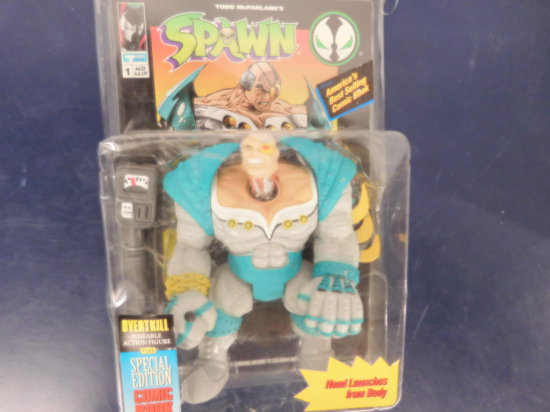 "1994 TODD TOYS ""OVERKILL"" SPAWN ACTION FIGURE"