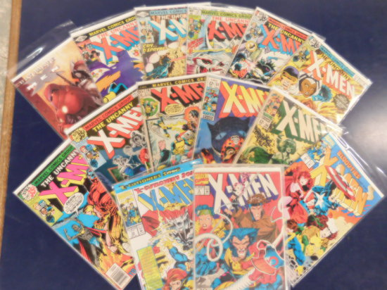 (14) X-MEN COMIC BOOKS - MARVEL COMIC