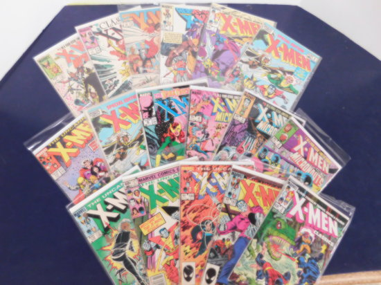 (17) X-MEN COMIC BOOKS - MARVEL COMICS