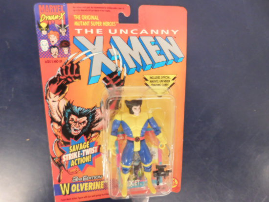 "1992  X-MEN ""WOLVERINE"" ACTION FIGURE"