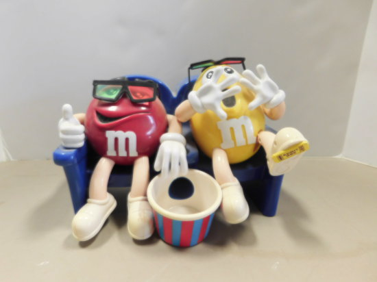 "M&M'S CANDY DISPENCER - ""AT THE MOVIES"""