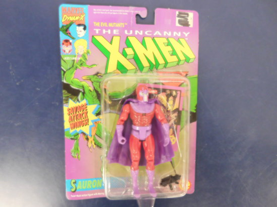 "1992 THE UNCANNY X-MEN ""SAURON"" ACTION FIGURE"