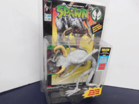 "1994 TODD TOYS ""THE VIOLATOR"" SPAWN ACTION FIGURE"
