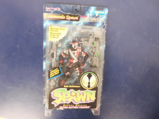 "1995 TODD TOYS ""COMMANDO SPAWN ACTION FIGURE"