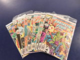 (9) FANTASTIC FOUR COMIC BOOKS - MARVEL COMICS