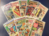 (8) FANTASTIC FOUR COMIC BOOKS - MARVEL COMICS