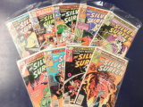 (9) SILVER SURFER COMIC BOOKS - MARVEL COMICS