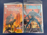 (2) TERMINATOR COMIC BOOKS - DARK HORSE COMICS