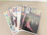 (6) ELEKTRA COMIC BOOKS - MARVEL COMIC