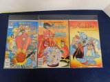(3) ALADDIN COMIC BOOKS - DISNEY COMICS