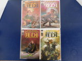 (4) STAR WARS TALES OF THE JEDI COMIC BOOKS - DARK HORSE COMICS