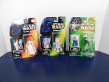 (3) STAR WARS ACTION FIGURES/ TOYS - NOS