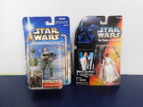 (2) STAR WARS ACTION FIGURES - NOS